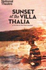 Sunset ot the Villa Thalia 26.07.2106